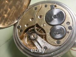 1915 Delicious Omega Pocket Steel Dial Enamel Very Good Condition Caliber 19'