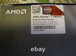 Amd Ryzen 7 3800x 8c/16t 3.9 Ghz (4.5 Ghz Boost) In Very Good Condition