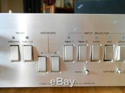 Amplifier Vintage Luxman L-116 A In Very Good Condition