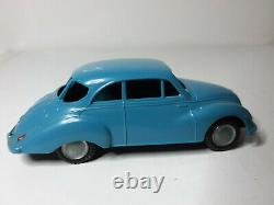 Ancient Lion Car Super Dkw Sky Toy Blue In Very Good State Near Nine