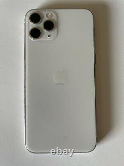 Apple Iphone 11 Pro 256gb Silver (disimlocked) A2215 Very Good Etat