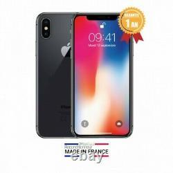 Apple Iphone Black X Silver 64gb / 256gb Refurbished Like New