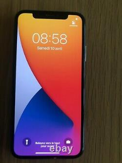 Apple Iphone X 256go Grey Sidereal (disimlock) Very Good Condition Face ID Hs
