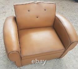 Armchair Club Mustache Vintage Convertible, 40 Years, Very Good Condition
