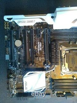 Asus X99 Pro Usb3.1 Motherboard Opportunity Very Good Condition, As New