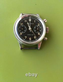 Auricoste Military Chronograph Type 20 Years 50 Very Good Etat