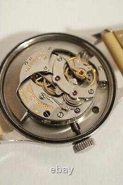Automatic Steel Lecoulter Jaeger, Calibre 476, Very Good State, 1950s