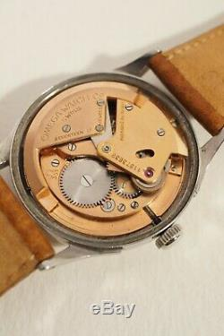 Automatic Steel Omega Caliber 351, Very Good Condition, 1948