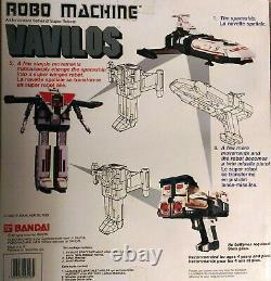 Bandai Godaikin Series Shaider Vavilos Robot Transformer, Very Good Condition