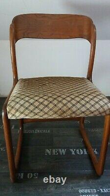 Baumann Sled Chair In Very Good Condition