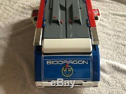 Bioman Bio Dragon Very Good Condition Old Vintage Bandai Big Scale Epoque Popy