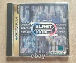 Blast Wind Sega Saturn Tecno Soft Ntsc-j Jap Japan Very Good State