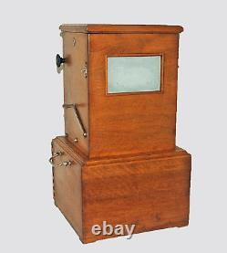 Borne Taxiphote 45x107 Jules Richard Year France 1920 Very Good State