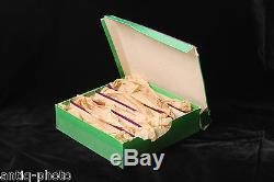 Box Of 6 Geissler Tubes. Circa 1900, Very Good Condition