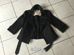 Burberry Jacket Size 40 Black Very Good And Almost New