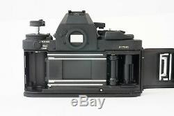 Camera Canon New F-1 Black Very Good Condition 9.5 / 10