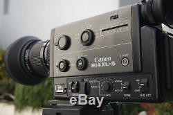 Canon 814 Xls Super8 Camera In Very Good Cosmetic And Working Condition