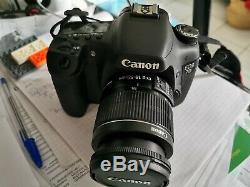 Canon Eos 7d With 18-55 Very Good Condition