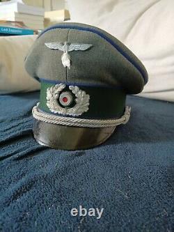 Cap, Schirmmutze Wehrmacht German Ww2 Doctor Very Good Condition