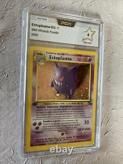 Card Pokémon Set Fossile Ectoplasma 5/62 Edition 1 P Pca 6 Very Good Condition