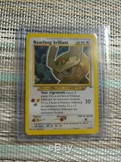 Carte Pokemon Noctowl Brilliant Neo Destiny 110/105 Holo Very Good French State