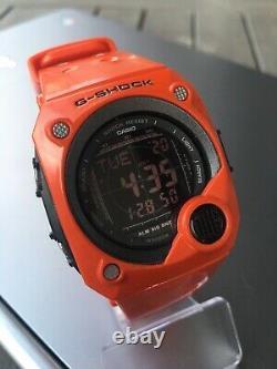 Casio G-8000 Orange Watch In Very Good Condition