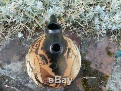 Ceramics Ciboure Pitcher Decor Pelotari Signed E. Vilotte In Very Good Condition