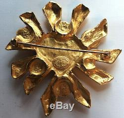 Christian Lacroix Brooch Heart Very Good
