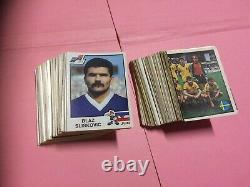 Complete Set Stickers Panini Euro 84 1984 Tres Good State