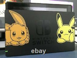 Console Nintendo Switch Edition Pokemon Let's Go Very Good State