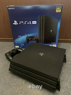 Console Ps4 Pro 1to Sony Complete And In Very Good Condition / Little Served