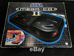 Console Sega Mega CD II + 1x Megadrive No Power Supply Pal Very Good