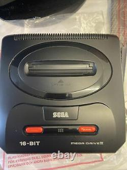 Console Sega Megadrive Mega Drive II 2 Pack Mega 6 Very Good Condition