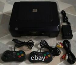 Console Snk Neo-geo CD Front Loader Complete Box (very Good Condition)