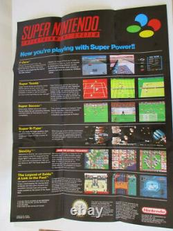 Console Super Nintendo Nes Snes Pack Street Fighter 2 II Turbo Very Good Condition