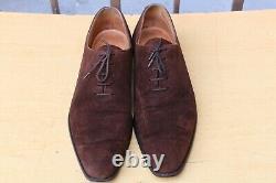Crockett & Jones Shoes Alex Suede 7 E 41 Very Good State Men's Shoes