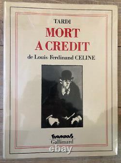 Dedicace Bd Tardi Mort A Credit Eo Brochee Tres Bon Etat