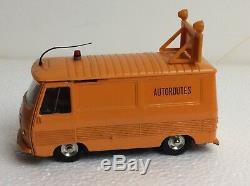 Dinky Toys 570a Original 1966 Motorway Peugeot J7 In Very Good Condition