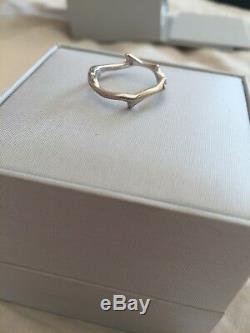 Dior Ring Rosewood White Gold Size 53 Very Good Condition