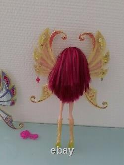 Doll Winx Enchantix Tecna 2004 In Very Good Condition