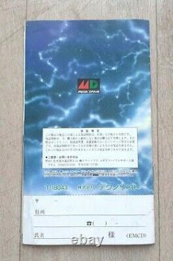 Elemental Master Sega Megadrive Mega Drive Ntsc-j Jap Japan Very Good State