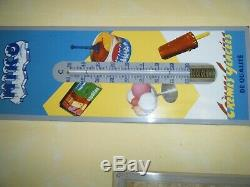 Enamelled Plate Thermometer Ice Miko Very Good State