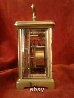 Former Clock Clock Called Officer-end 19th - Very Good Condition