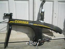 Frame Corima Fox 700 Carbon In Very Good Condition Idem Zipp Trek Softride Look