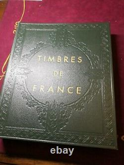France 1849- 1975 Album With New Stamps And Score 6460 Approx, Read Details