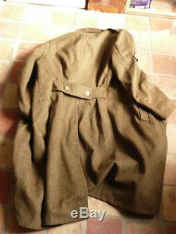 French Capote Date 1943 Colonial Infantry Very Good Condition
