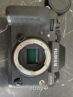 Fujifilm X-t2 Black. Very Good State. Two Chargers, Three Batteries