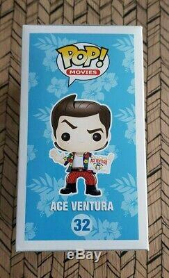 Funko Pop Ace Ventura 32 Vaulted 2013! Very Good Condition With Protective Box