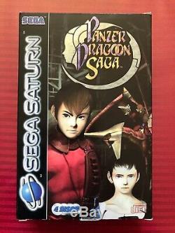 Game Sega Saturn Panzer Dragoon Saga Full Pal Very Good Condition