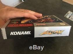 Games Axelay Snes Complete 100% Original Tres Tres Bon